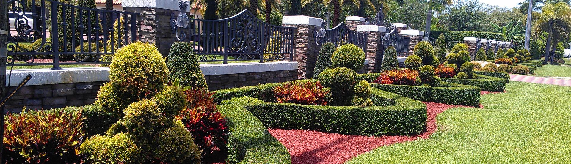 Garden Design in Broward